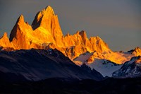 Argentina, Patagonia El Chalten, Fitz Roy Fine-Art Print