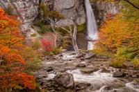 Argentina, Patagonia Waterfall Fine-Art Print
