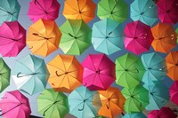 Portugal Umbrella 1 Fine-Art Print