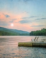 Dock at Sunset Fine-Art Print