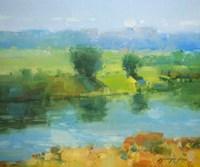 Summer Lake Fine-Art Print