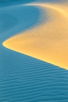 New Mexico, White Sands National Park, Sand Dunes At Sunrise Fine-Art Print