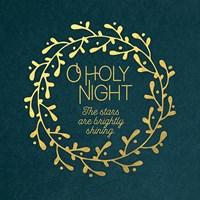 O Holy Night Wreath Fine-Art Print