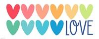 Love Hearts Fine-Art Print