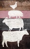 Barn Animals Fine-Art Print