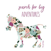 Search for Big Adventures Fine-Art Print
