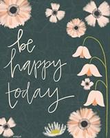 Be Happy Today Fine-Art Print