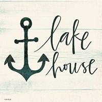 Lake House II Fine-Art Print