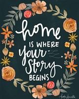 Home is? Fine-Art Print