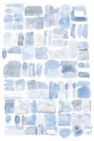 Blue Abstract V Fine-Art Print