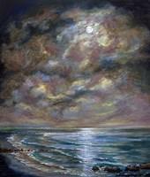 Moody Moon Light I Fine-Art Print