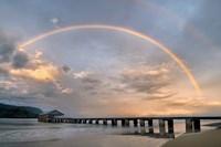 Rainbow Pier Fine-Art Print