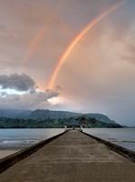 Rainbow Pier III Fine-Art Print