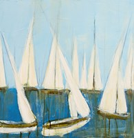 Sailboats II Fine-Art Print