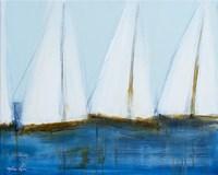 Sailboats III Fine-Art Print
