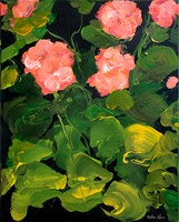 Coral Hydrangeas Fine-Art Print