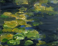 Lilypad Pond Fine-Art Print