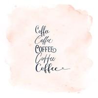 Coffee x 5 Fine-Art Print