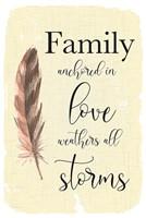 Family Anchored Fine-Art Print