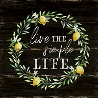 Live the Simple Life Fine-Art Print
