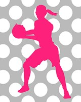 Basketball Girl Fine-Art Print