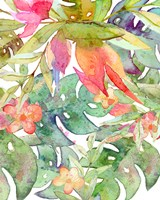 Tropical Watercolor II Fine-Art Print