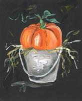 Pumpkin in a Bucket Fine-Art Print