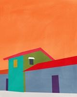Colorful Houses Fine-Art Print
