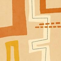 Modern Textile Framed Print