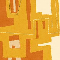 Modern Textile II Framed Print