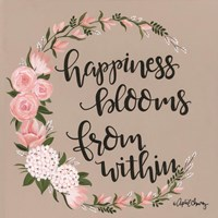 Happiness Blooms from Within Fine-Art Print