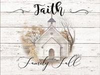 Faith, Family, Fall Fine-Art Print