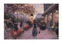 Strolling on the Avenue Fine-Art Print