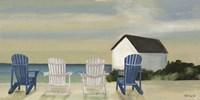 Beach Chairs Panorama Fine-Art Print