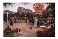 Parisian Promenade Fine-Art Print