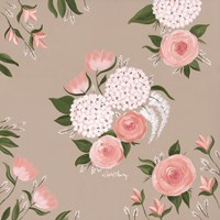 Pink and White Floral Fine-Art Print