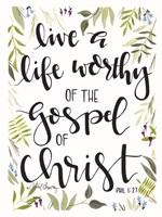 The Gospel of Christ Fine-Art Print