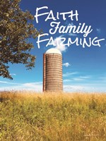 Faith, Family, Farming Silo Fine-Art Print