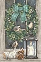 Winter Wreath Fine-Art Print