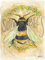 Save the Bees Fine-Art Print