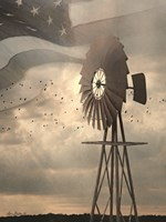 Land That I Love Windmill I Fine-Art Print