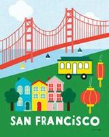 City Fun San Francisco Fine-Art Print