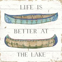 Lake Sketches V Color Fine-Art Print