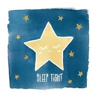 Night Sky Sleep Tight Framed Print