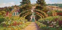 Monet's Grand Entrance Fine-Art Print