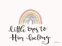 Little ones to Him Belong Fine-Art Print