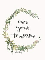 Own Your Tomorrow Fine-Art Print