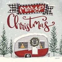 Merry Christmas Camper Fine-Art Print