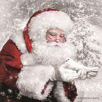 Santa's Little Friend Fine-Art Print