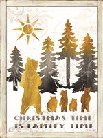 Christmas Time is Family Time Fine-Art Print